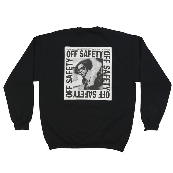 【OFF SAFETY/オフセーフティー】STACKS CREW クルースウェット / BLACK