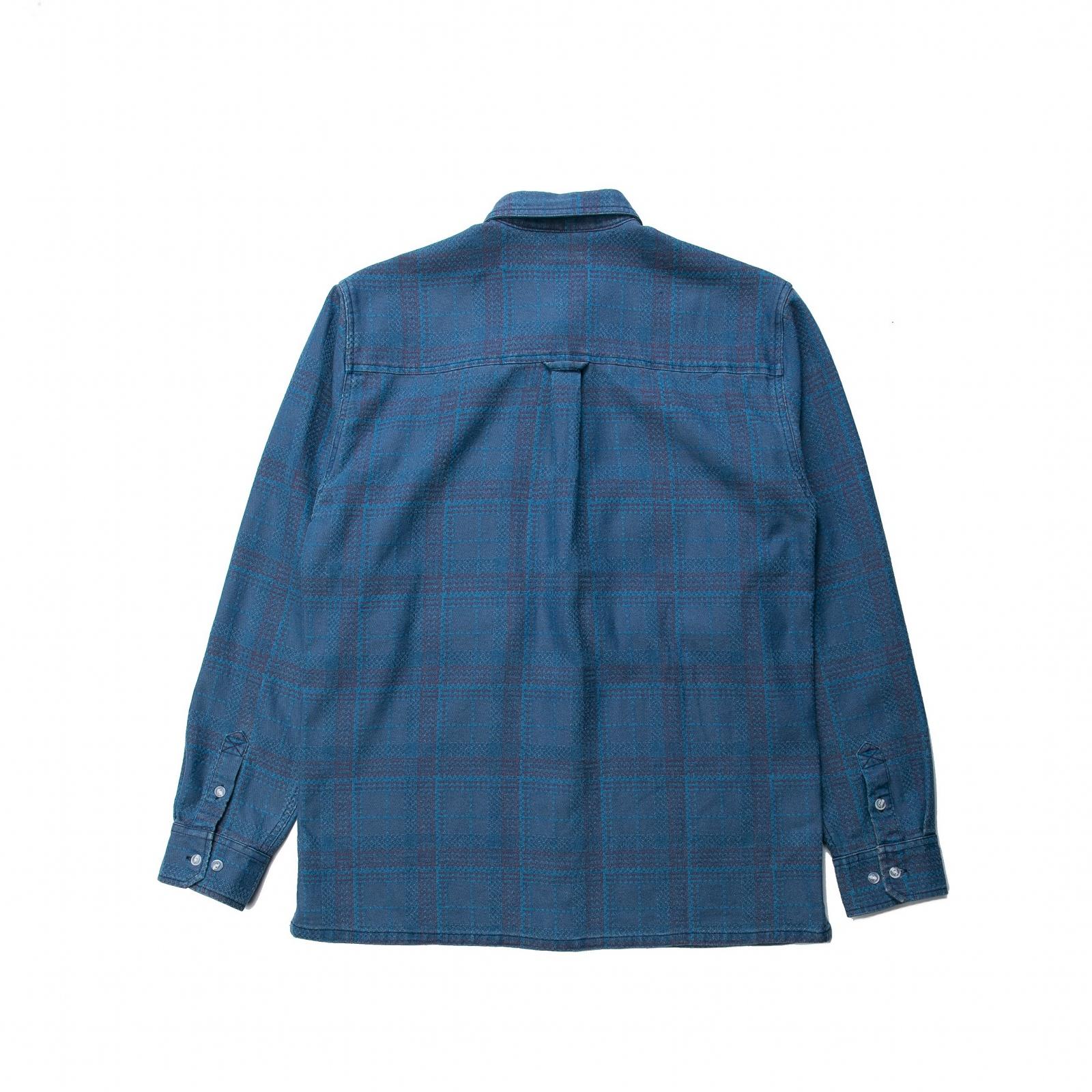 【PUBLISH BRAND/パブリッシュブランド】INDO 長袖シャツ / BLUE