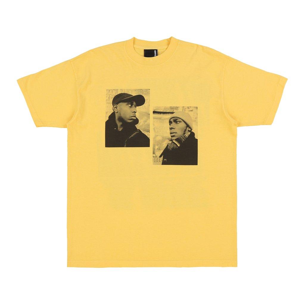 【OFF SAFETY/オフセーフティー】REFLECTION TEE Tシャツ / YELLOW