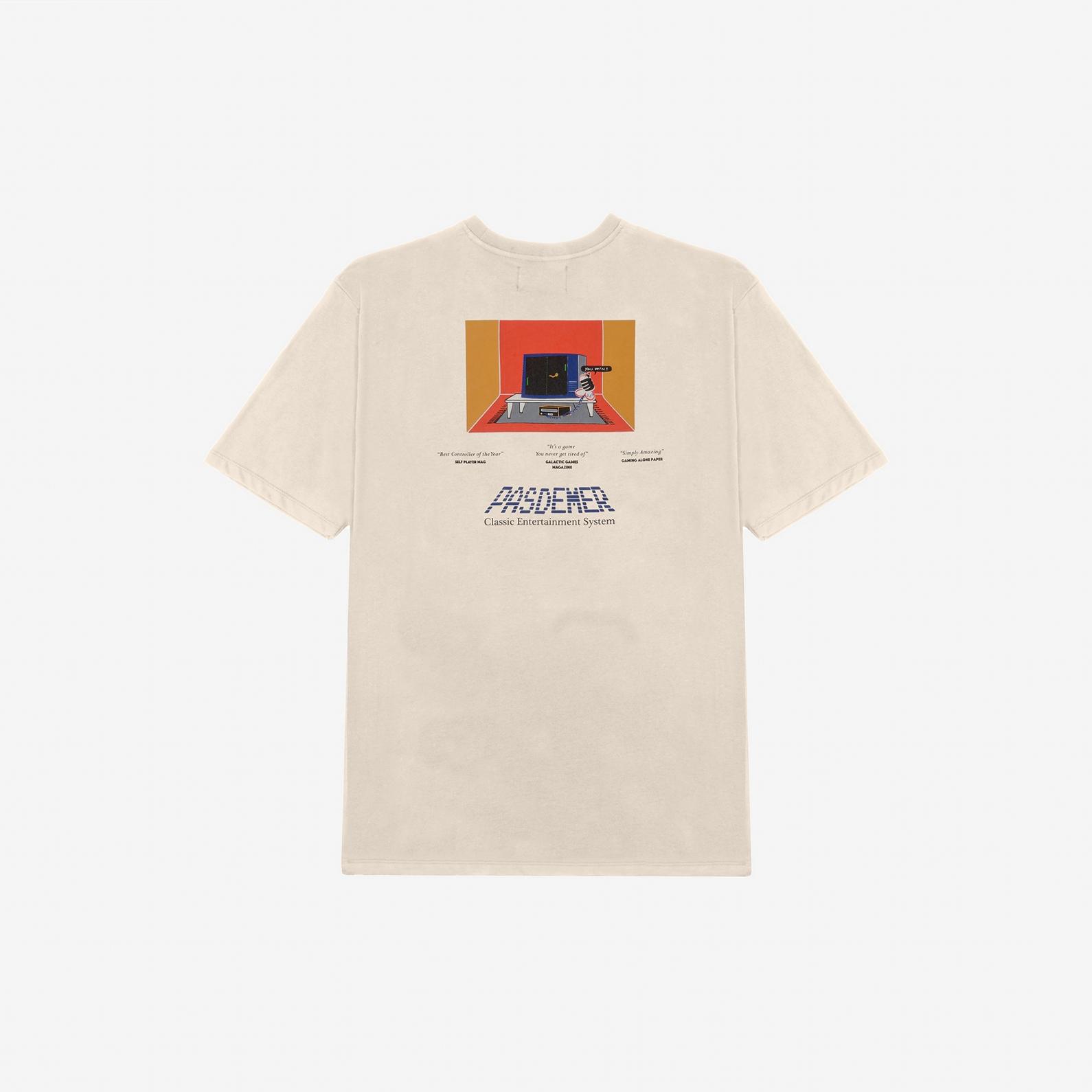 【PAS DE MER/パドゥメ】JOYPAD T-SHIRT Tシャツ / NATURAL