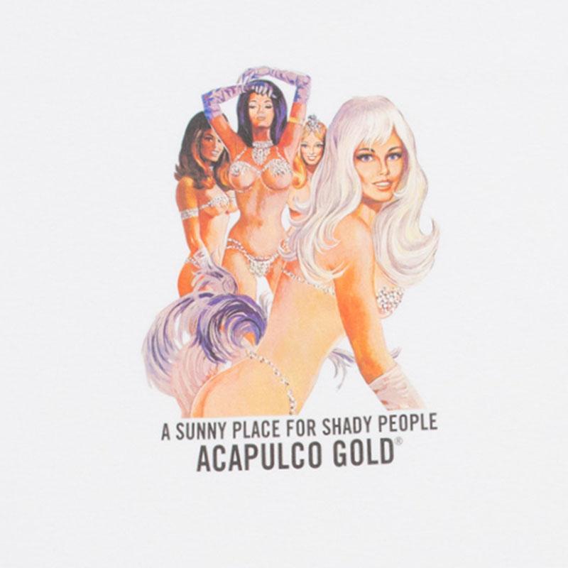 【ACAPULCO GOLD/アカプルコ ゴールド】TOO HOT TEE Tシャツ / WHITE