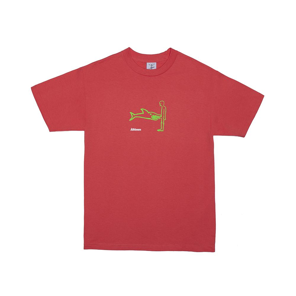 【ALLTIMERS/オールタイマーズ】SHARK DICK TEE Tシャツ / CORAL