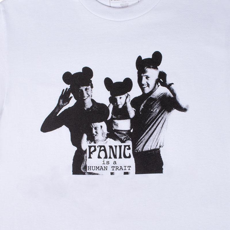 【PLEASURES/プレジャーズ】HUMAN TRAIT T-SHIRT Tシャツ / WHITE