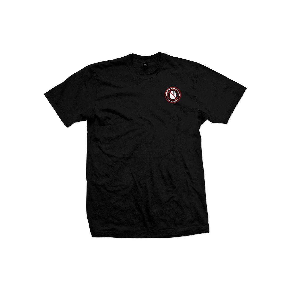 【COLD WORLD FROZEN GOODS/コールドワールドフローズングッズ】SERVICE INDUSTRY TEE Tシャツ / BLACK