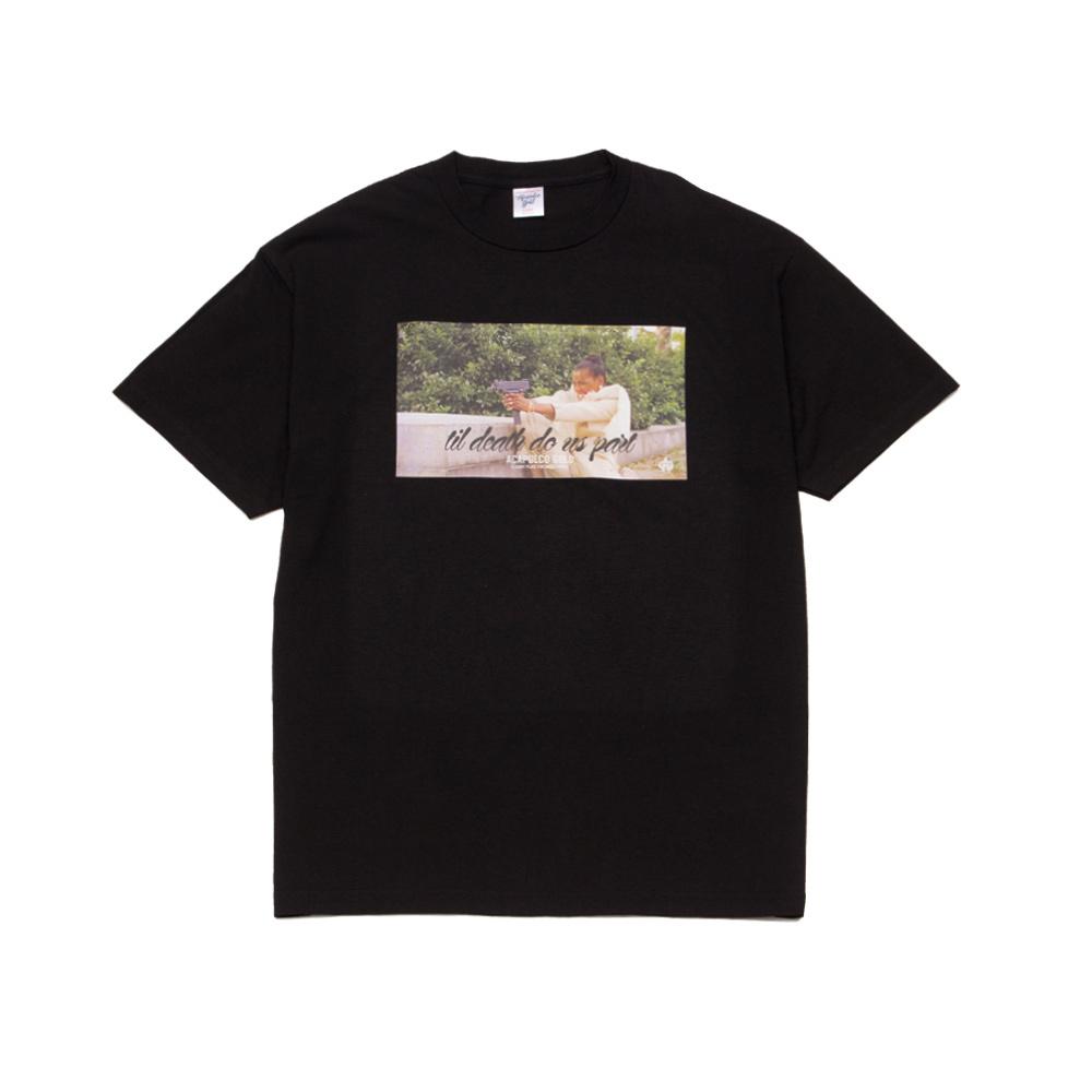 【ACAPULCO GOLD/アカプルコ ゴールド】TIL DEATH DO US PART TEE Tシャツ / BLACK