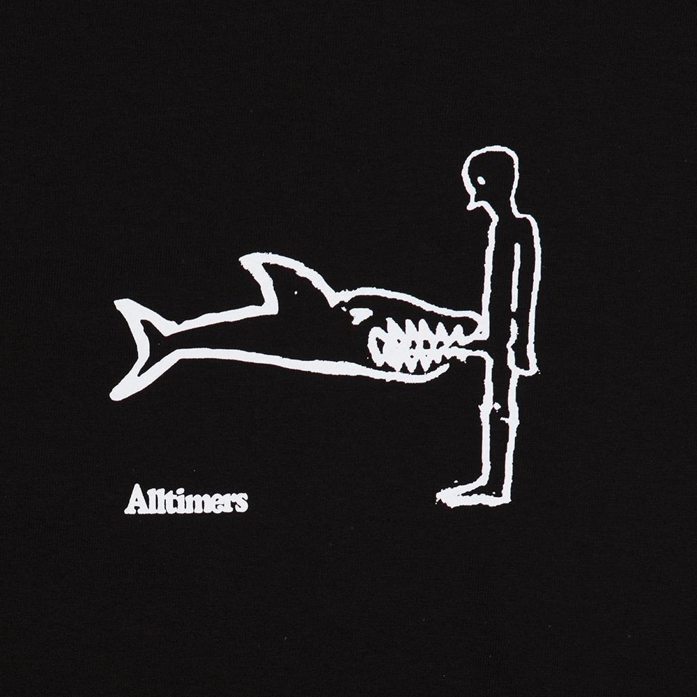 【ALLTIMERS/オールタイマーズ】SHARK DICK TEE Tシャツ / BLACK