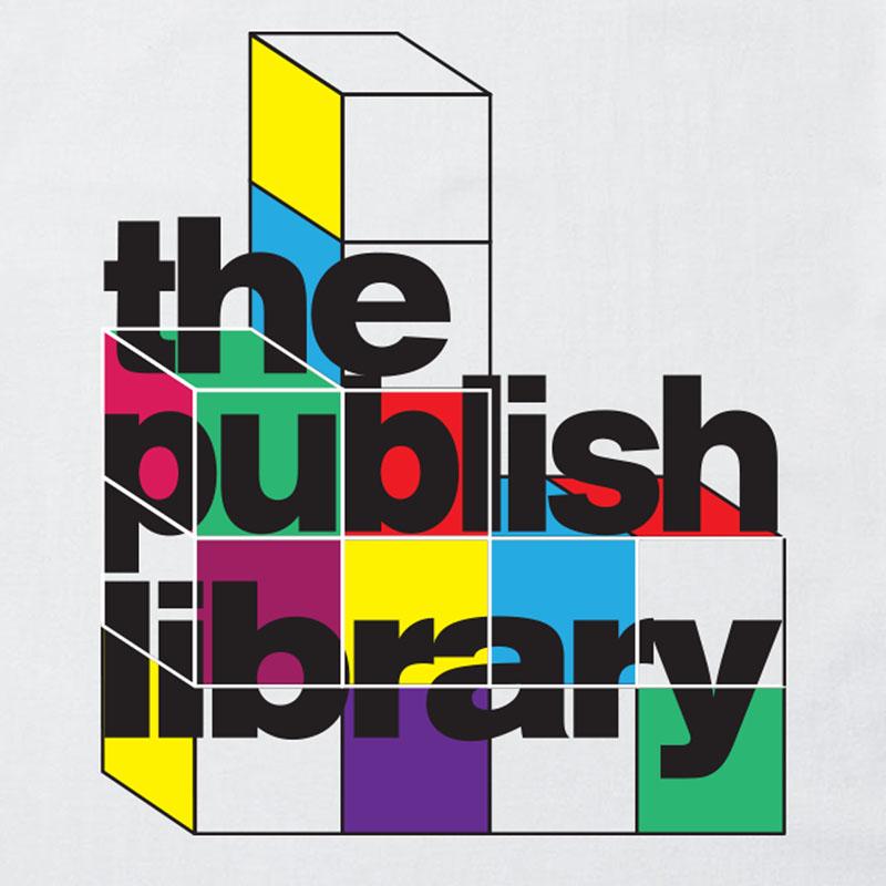 【PUBLISH BRAND/パブリッシュブランド】PUBLISH LIBRARY Tシャツ / WHITE