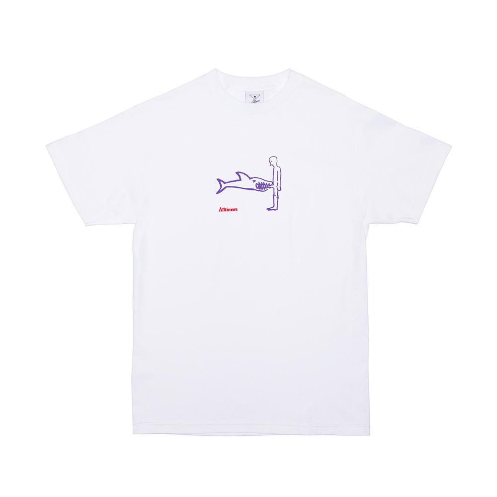 【ALLTIMERS/オールタイマーズ】SHARK DICK TEE Tシャツ / WHITE