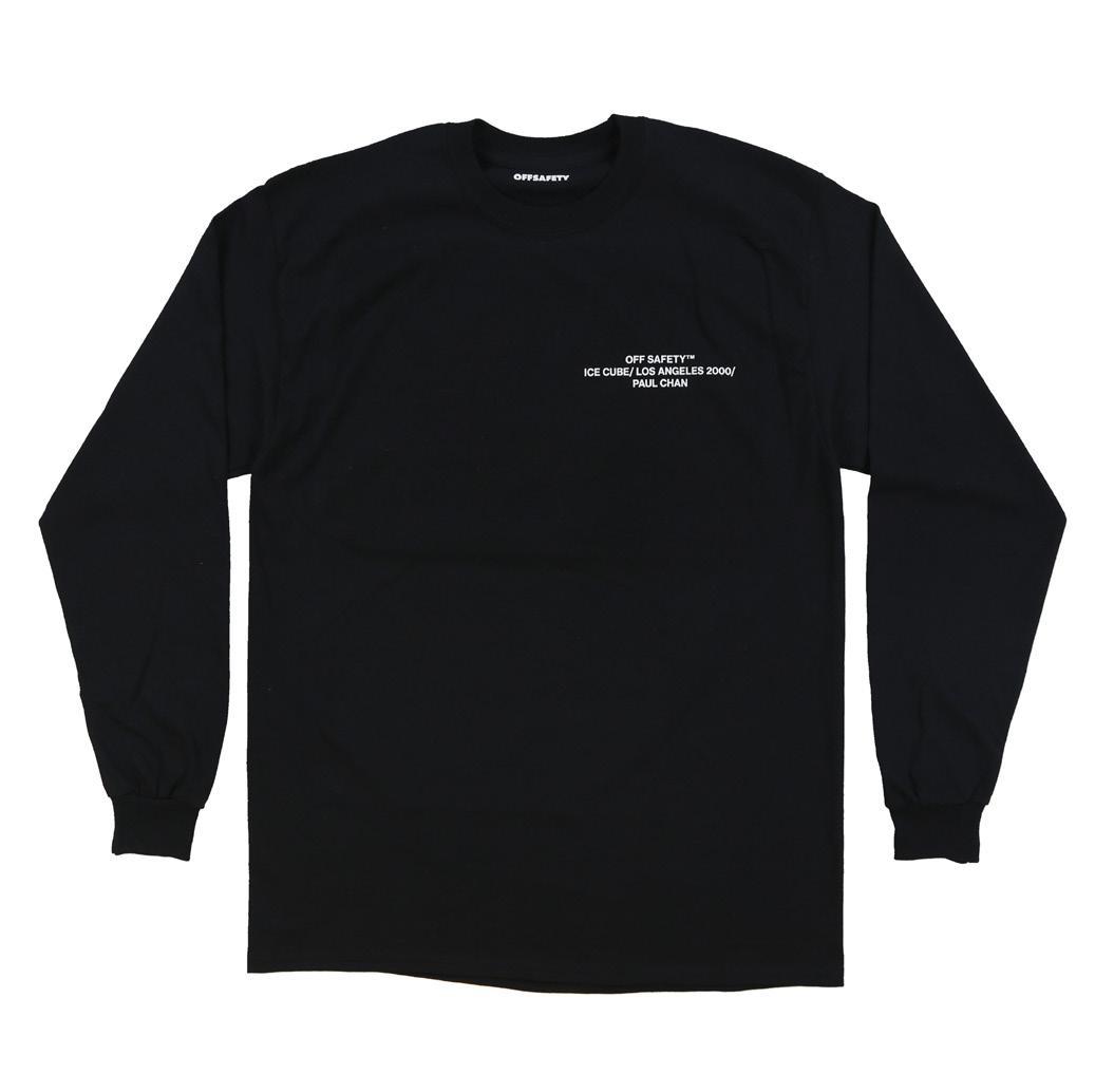 【OFF SAFETY/オフセーフティー】ICE BREAKER LS ロングTシャツ / BLACK