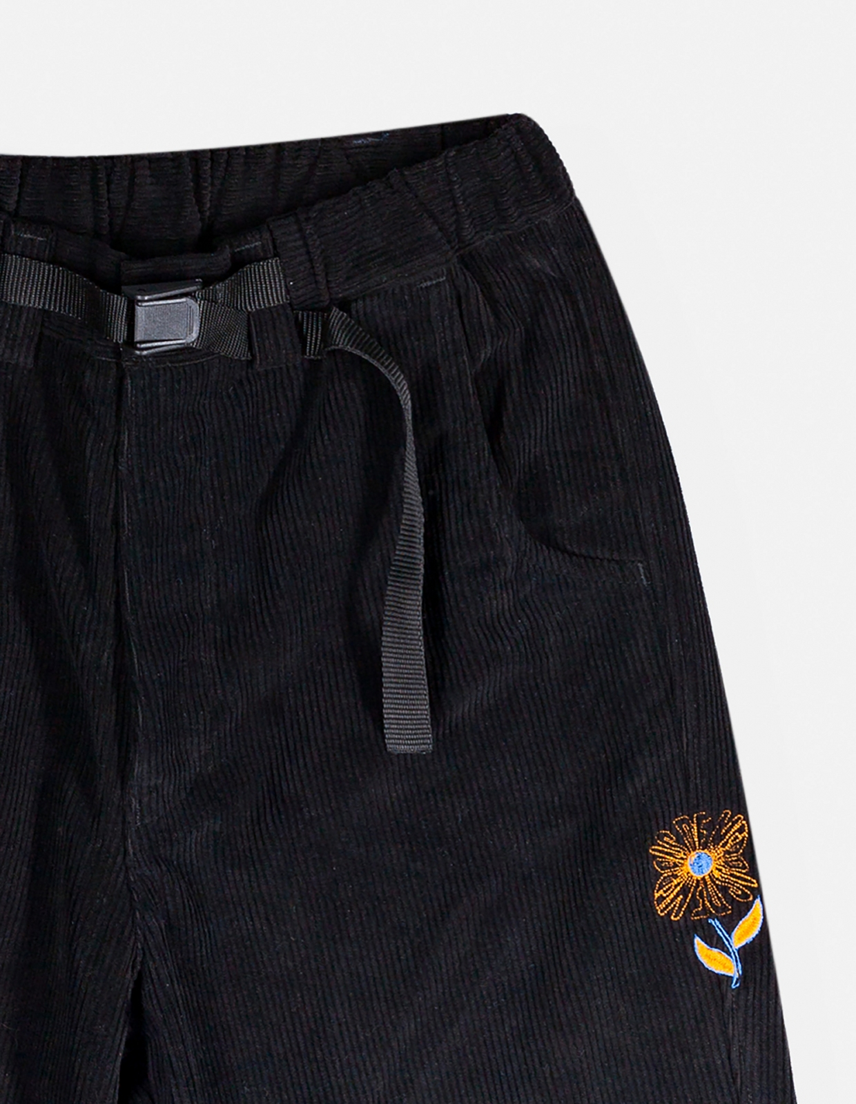 【PAS DE MER/パドゥメ】WRONG PLACE PANTS パンツ / BLACK