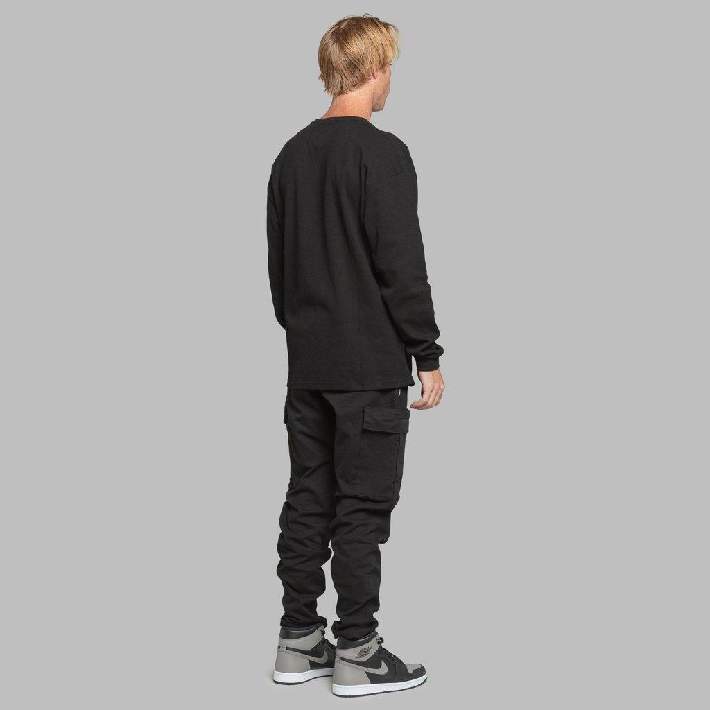 【FAIRPLAY BRAND/フェアプレイブランド】PHIL クルーネックシャツ / BLACK