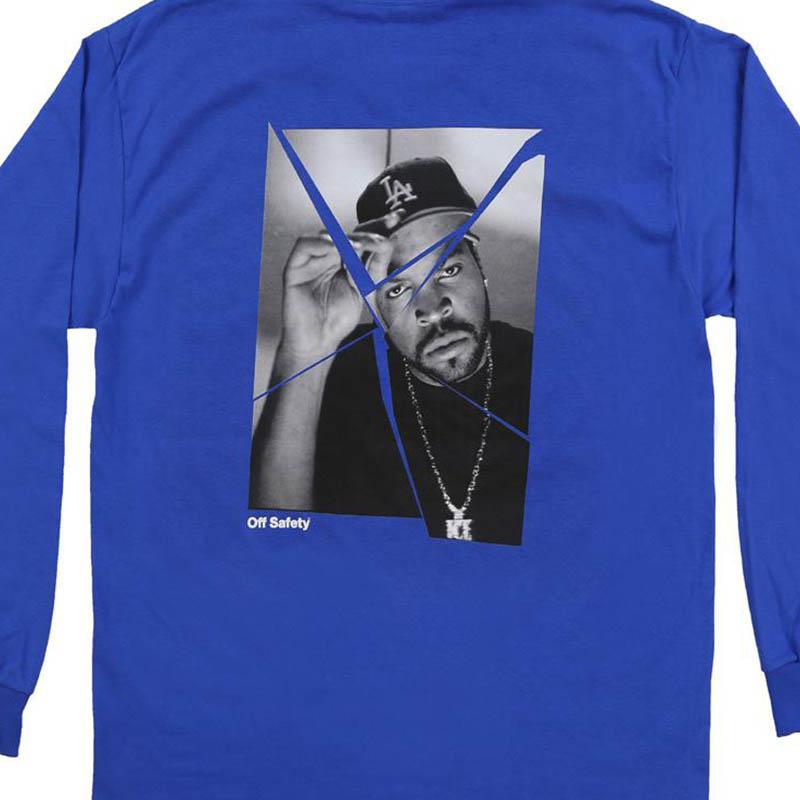【OFF SAFETY/オフセーフティー】ICE BREAKER LS ロングTシャツ / BLUE