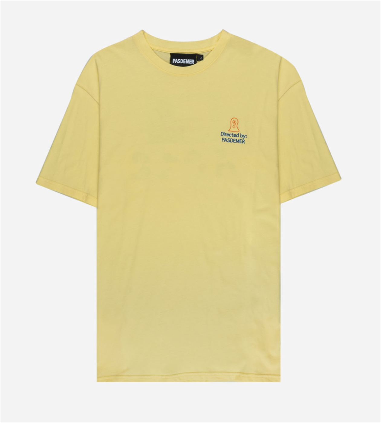 【PAS DE MER/パドゥメ】CINEMA T-SHIRT  Tシャツ / LIGHT YELLOW