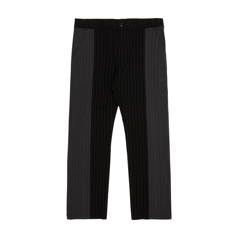 【PLEASURES/プレジャーズ】SHOCK STRIPE PANTS パンツ / BLACK / GREY