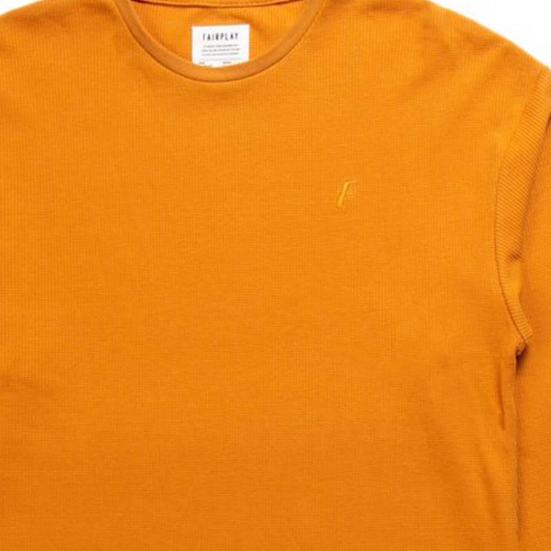 【FAIRPLAY BRAND/フェアプレイブランド】PHIL クルーネックシャツ / ORANGE