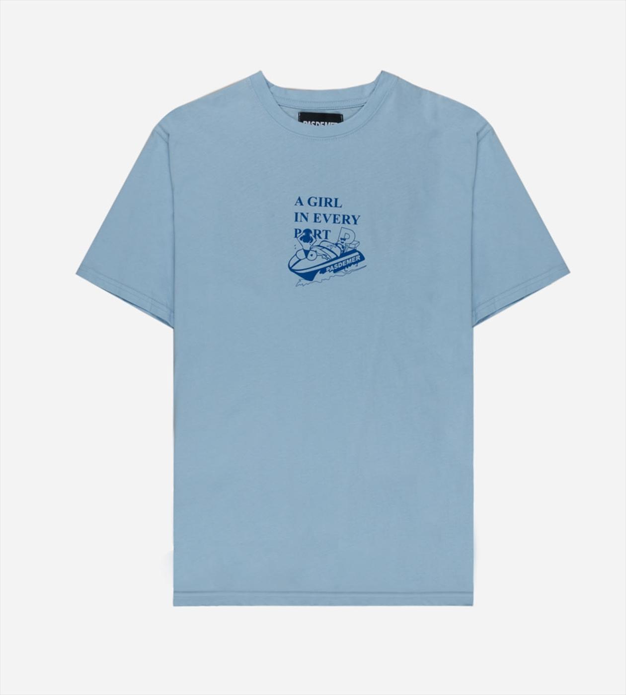 【PAS DE MER/パドゥメ】CRUISE T-SHIRT  Tシャツ / LIGHT BLUE
