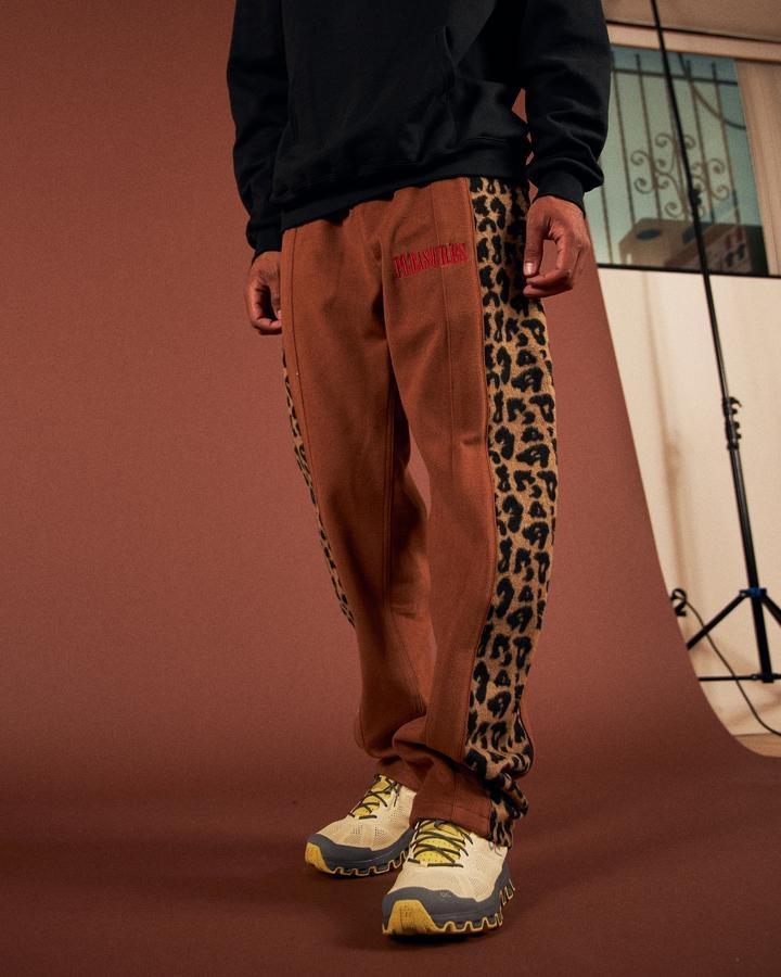 【PLEASURES/プレジャーズ】MEMORIES VELOUR PANT パンツ / BROWN