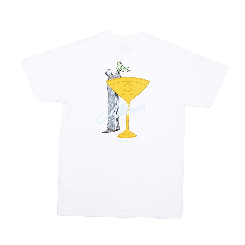 【ALLTIMERS/オールタイマーズ】BAPTIZZY TEE Tシャツ / WHITE