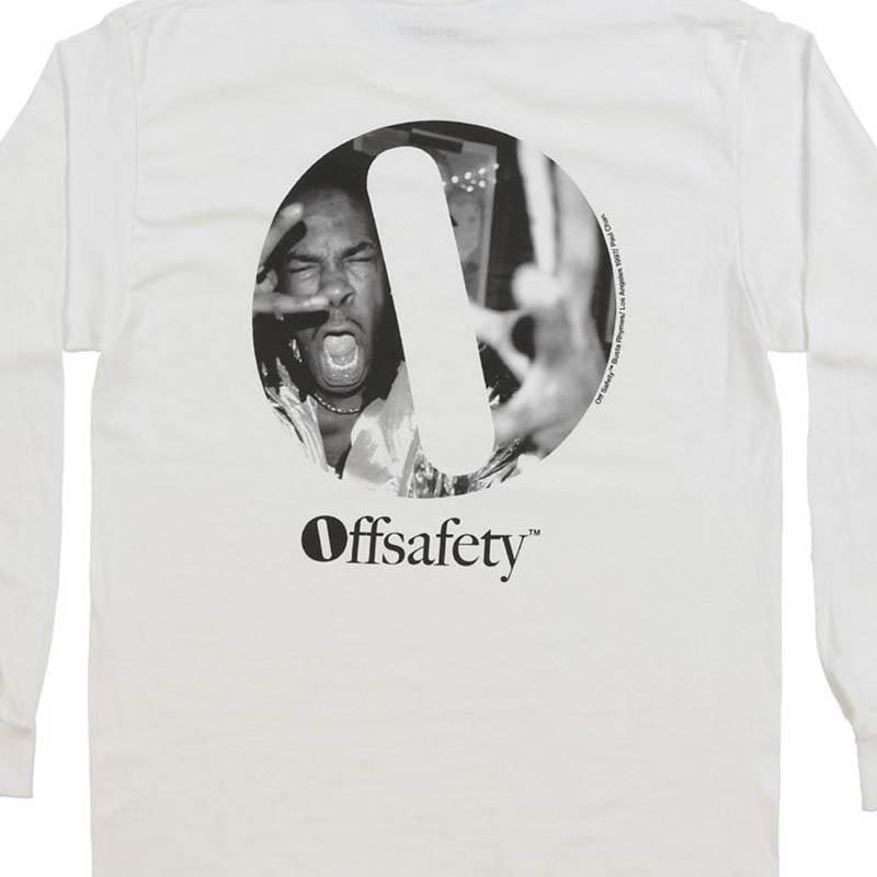 【OFF SAFETY/オフセーフティー】O-FACE LS ロングTシャツ / WHITE