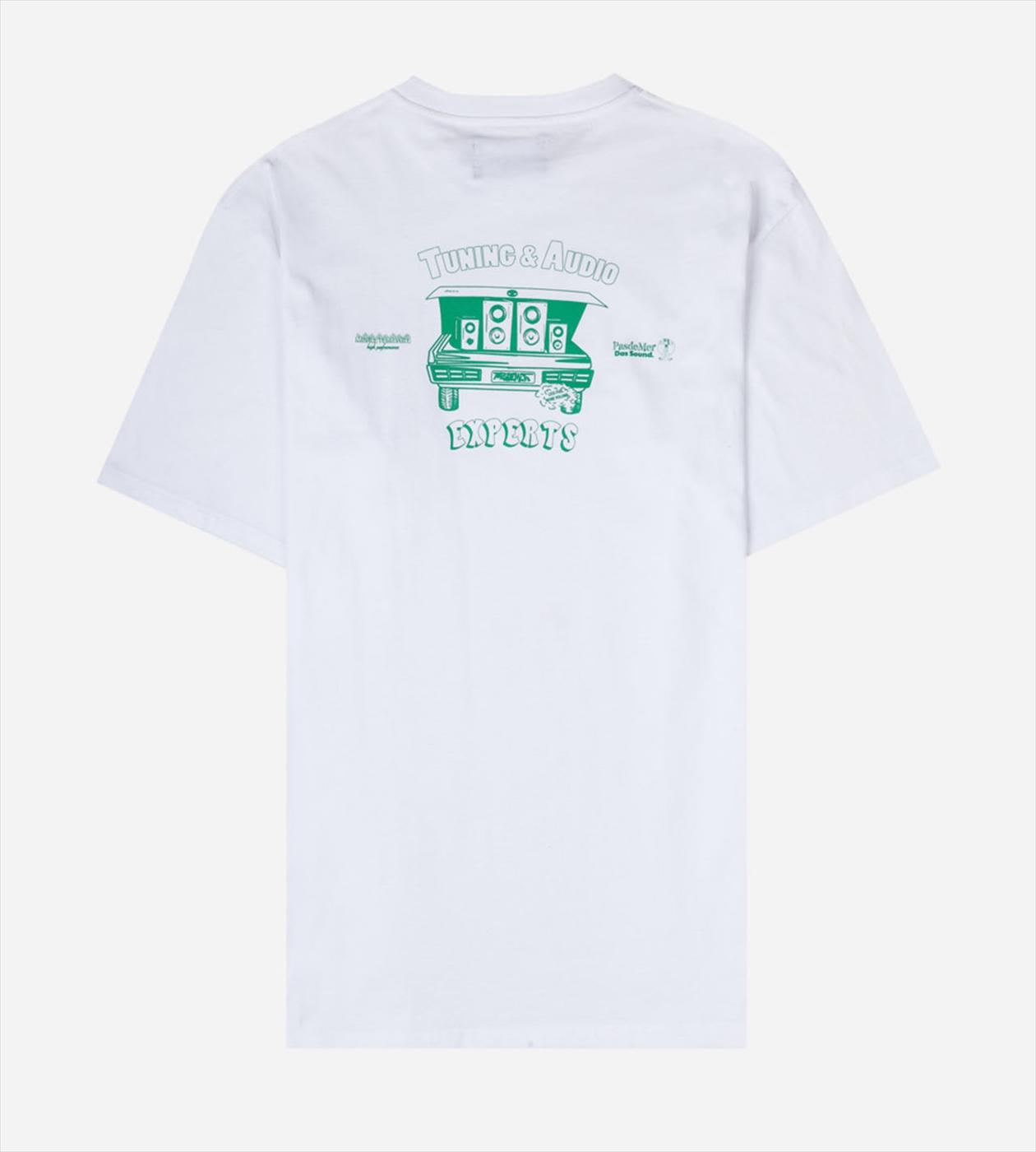 【PAS DE MER/パドゥメ】DAS RADIO T-SHIT  Tシャツ / WHITE