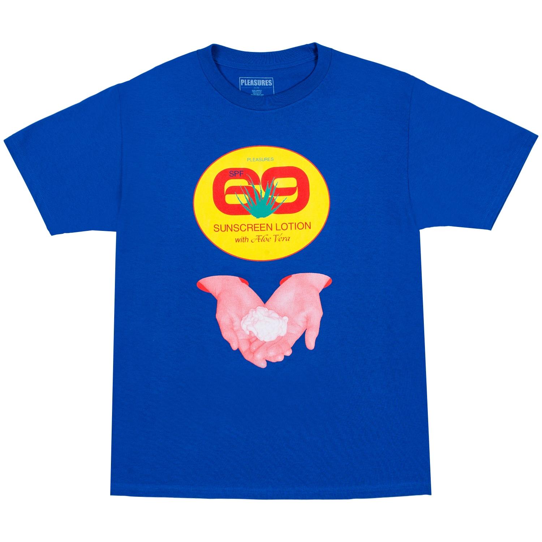 【PLEASURES/プレジャーズ】ALOE VERA T-SHIRT Tシャツ / ROYAL BLUE
