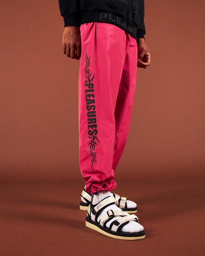 【PLEASURES/プレジャーズ】RESERVOIR TRACK PANT パンツ / HOT PINK