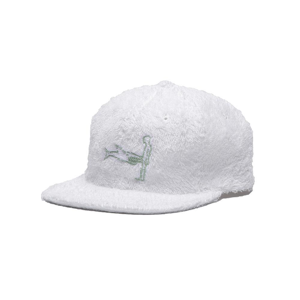 【ALLTIMERS/オールタイマーズ】SHARK DICK HAT ストラップバックキャップ / WHITE