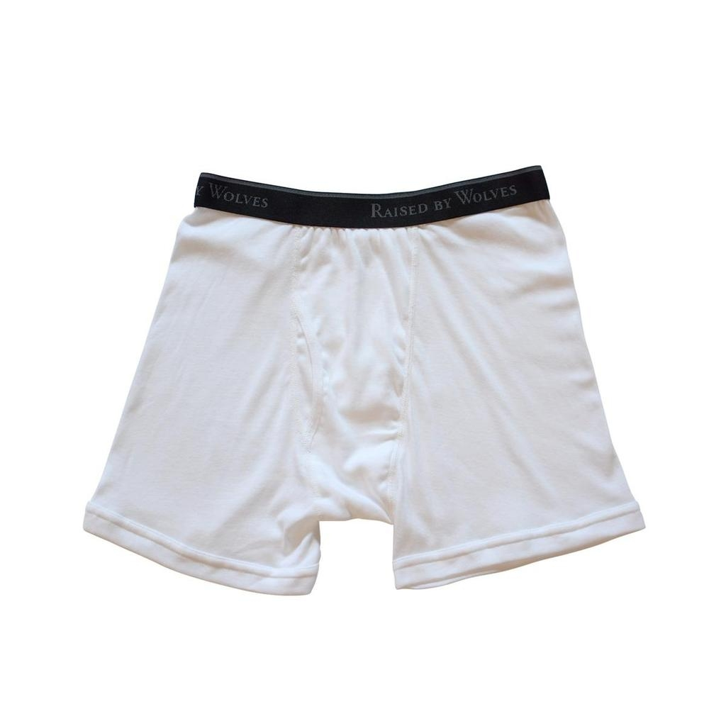 【RAISED BY WOLVES/レイズドバイウルブス】RBW/STANFIELD'S BOXER BRIEFS ボクサーパンツ / WHITE