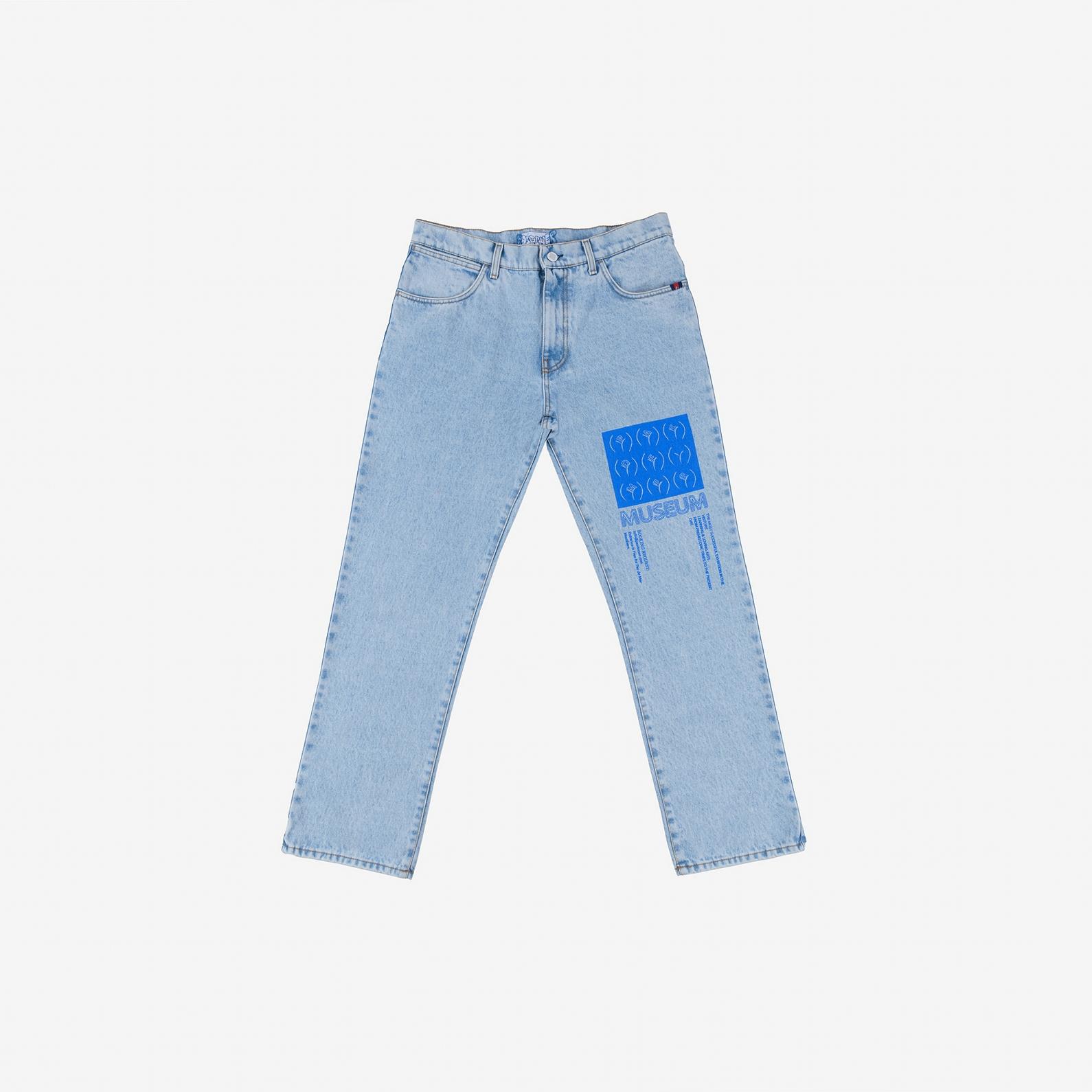 【PAS DE MER/パドゥメ】MUSEUM PANTS デニムパンツ / LIGHT BLUE