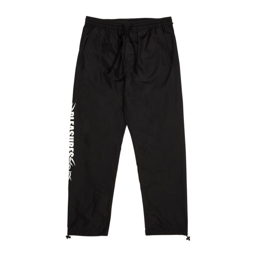 【PLEASURES/プレジャーズ】RESERVOIR TRACK PANT パンツ / BLACK