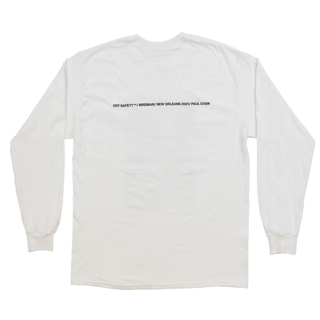 【OFF SAFETY/オフセーフティー】STILL FLY LS ロングTシャツ / WHITE