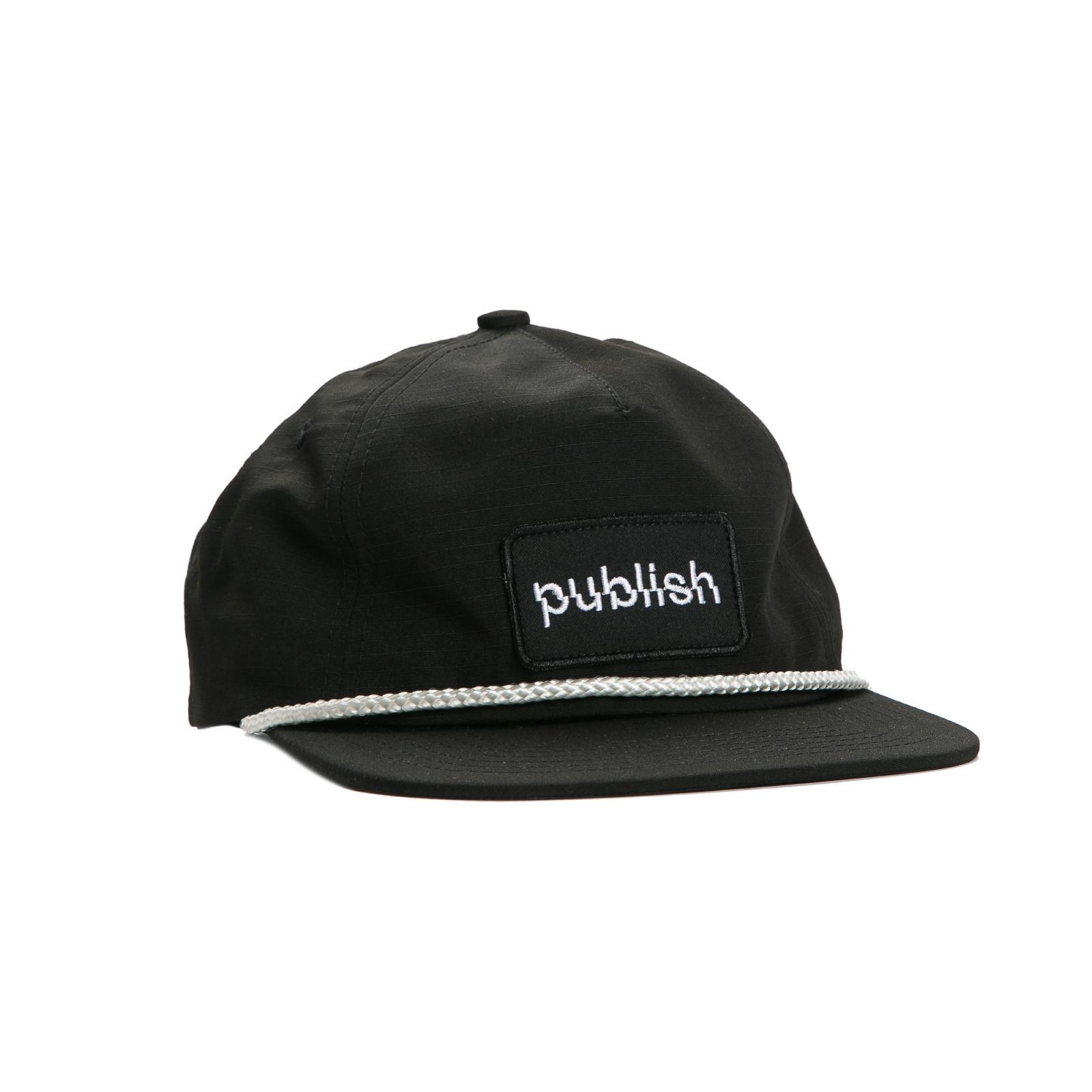 【PUBLISH BRAND/パブリッシュブランド】SHIFTER スナップバックキャップ / BLACK
