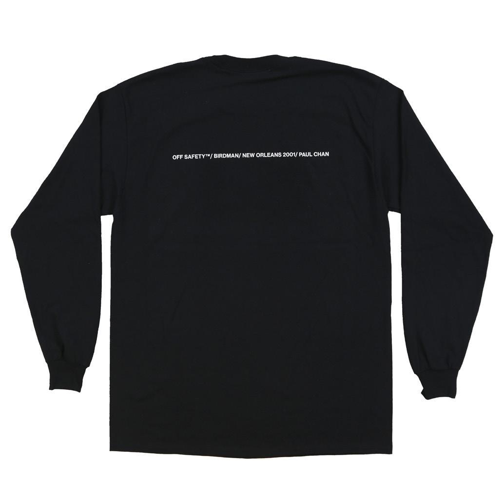 【OFF SAFETY/オフセーフティー】STILL FLY LS ロングTシャツ / BLACK