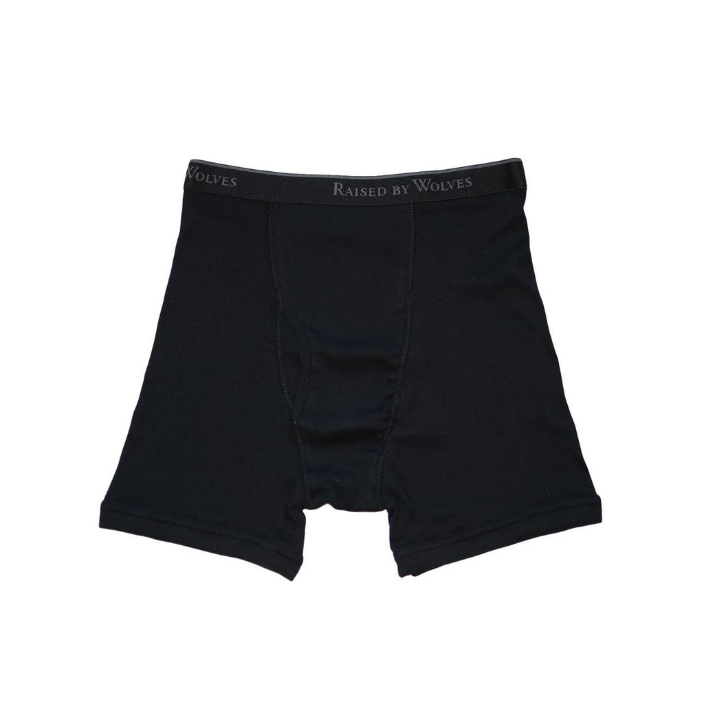 【RAISED BY WOLVES/レイズドバイウルブス】RBW/STANFIELD'S BOXER BRIEFS ボクサーパンツ / BLACK