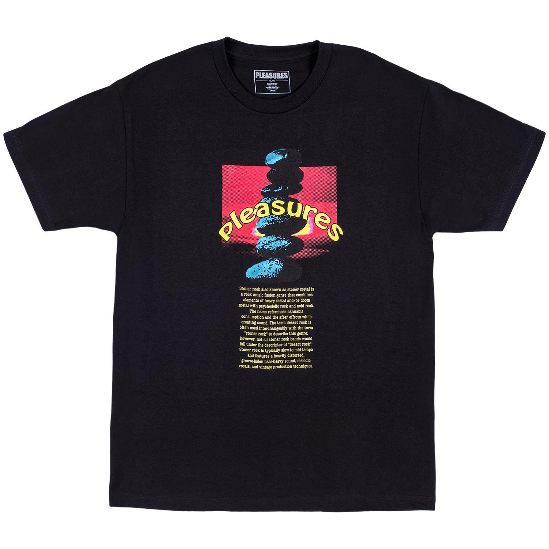 【PLEASURES/プレジャーズ】STONER T-SHIRT Tシャツ /  BLACK