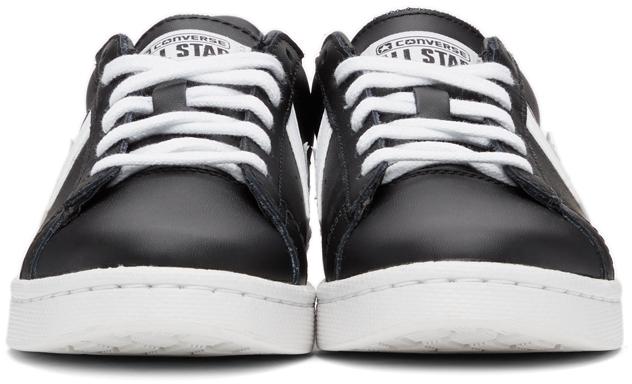 【CONVERSE/コンバース】PLO LETTER スニーカー  / ブラック&ホワイト