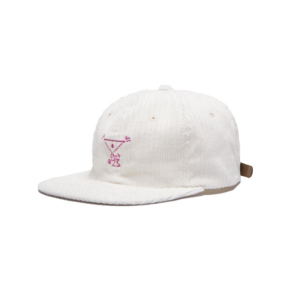 【ALLTIMERS/オールタイマーズ】ACTION HAT ストラップバックキャップ / WHITE