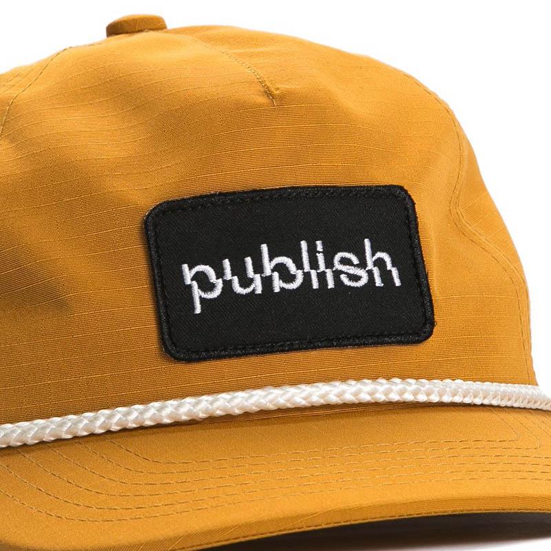 【PUBLISH BRAND/パブリッシュブランド】SHIFTER スナップバックキャップ / RUST