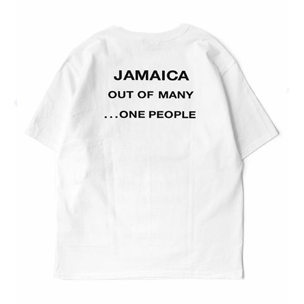 【M.V.P.】MVP JAMAICA T-SHIRTS Tシャツ / WHITE