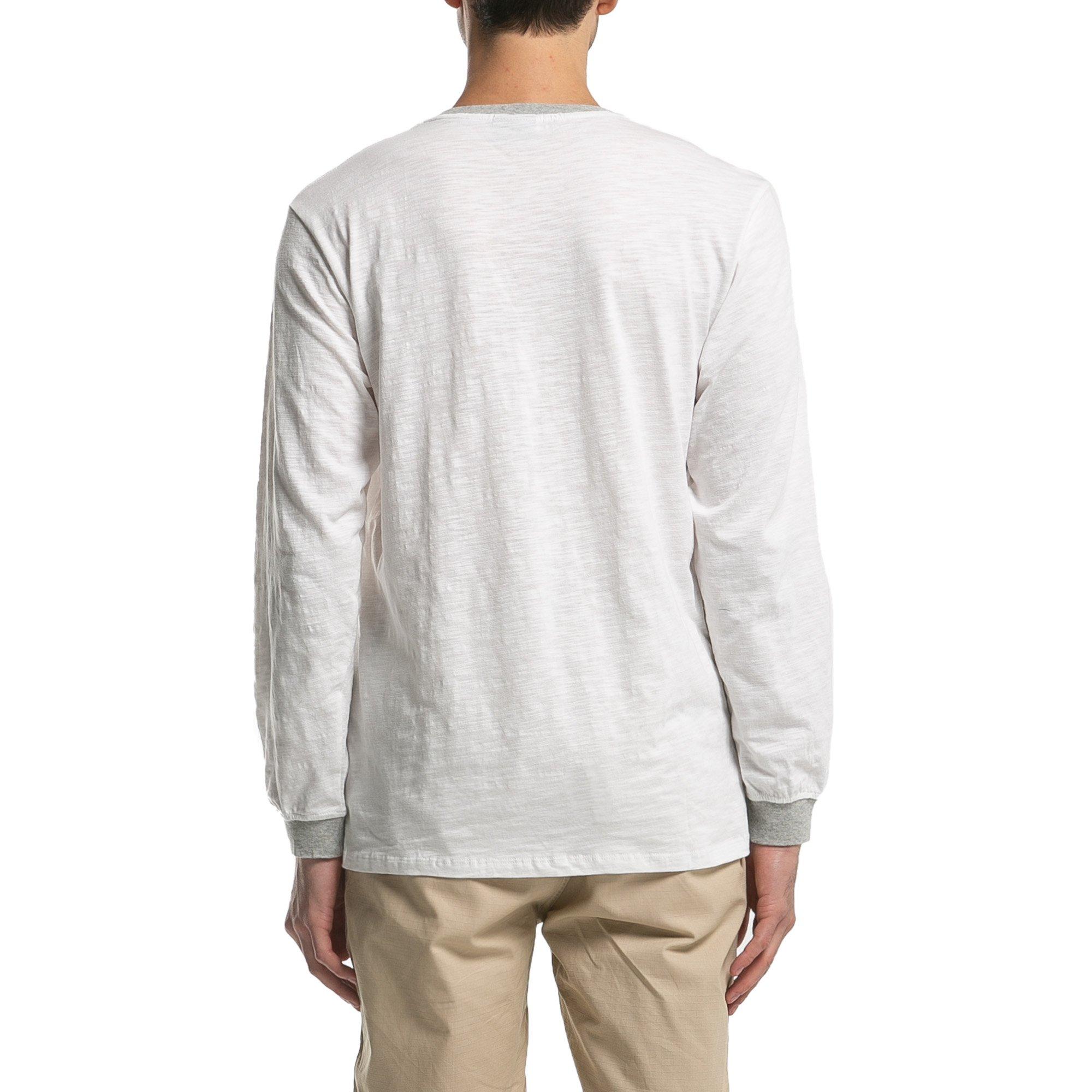 【PUBLISH BRAND/パブリッシュブランド】CORNELL  ポケットTシャツ / WHITE