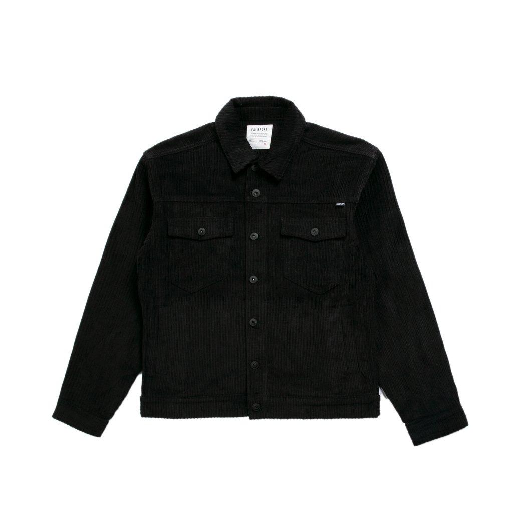【FAIRPLAY BRAND/フェアプレイブランド】EDGAR ジャケット / BLACK