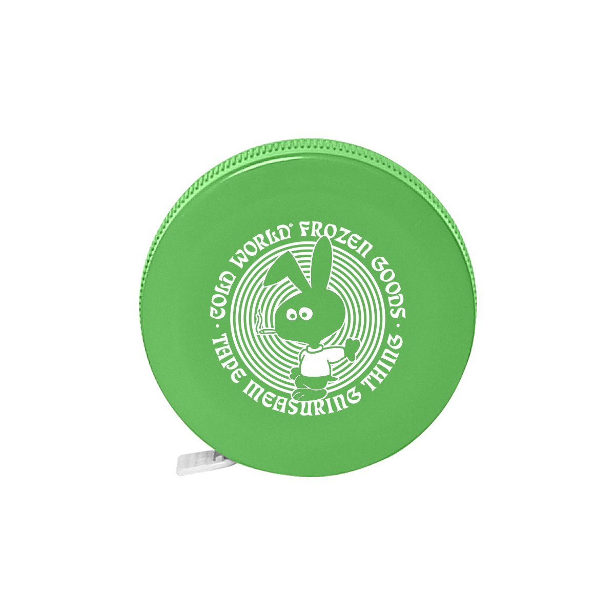【COLD WORLD FROZEN GOODS/コールドワールドフローズングッズ】COLD BUNNY TAPE MEASURE  メジャー / LIME GREEN
