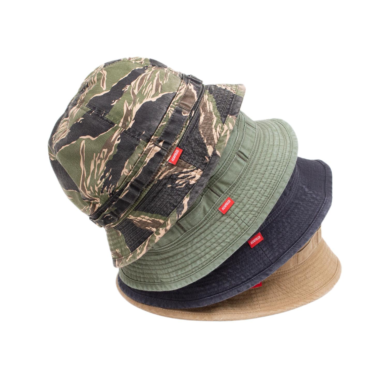 【ACAPULCO GOLD/アカプルコ ゴールド】BUCKET HAT バケットハット / OLIVE