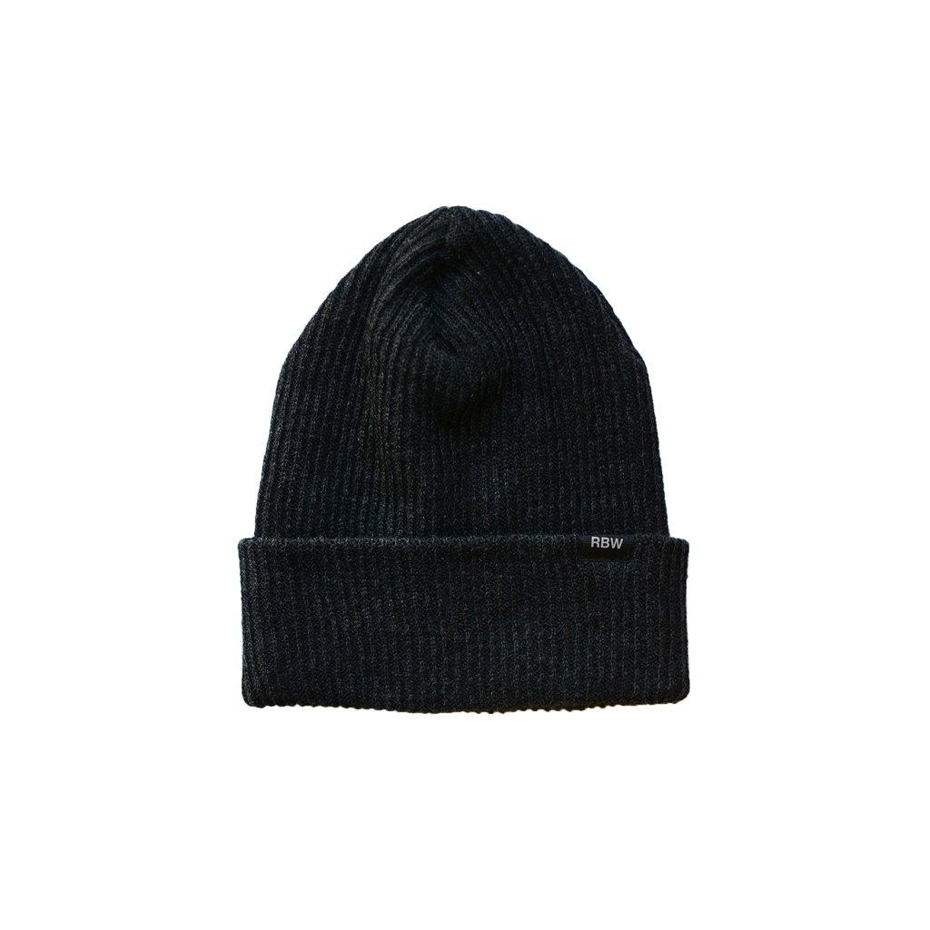 【RAISED BY WOLVES/レイズドバイウルブス】LIGHTWEIGHT WATCH CAP ニット帽 / BLACK