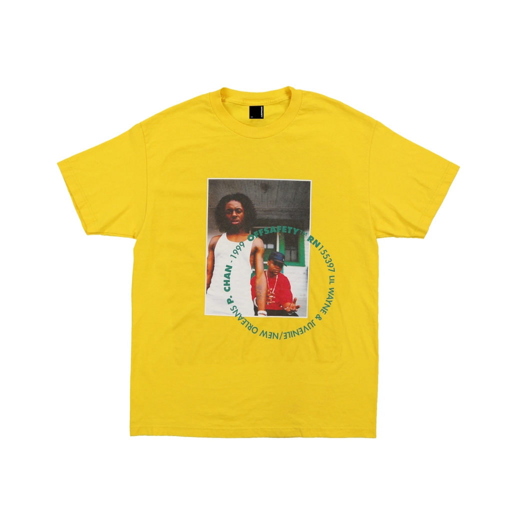 【OFF SAFETY/オフセーフティー】SOUTHERN HOSPITALITY TEE Tシャツ / YELLOW