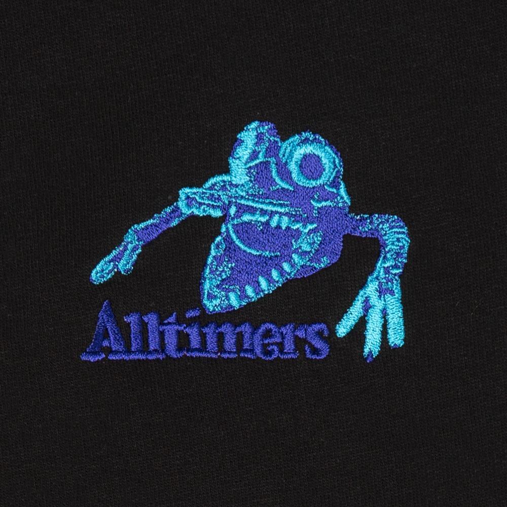 【ALLTIMERS/オールタイマーズ】MONSTA CREW クルースウェット / BLACK