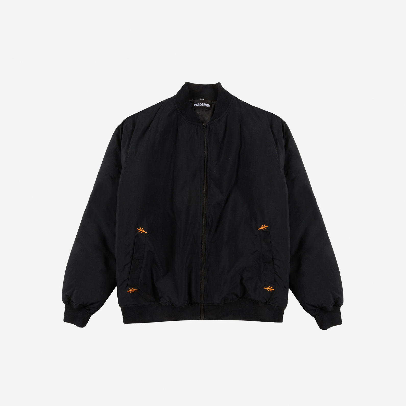 【PAS DE MER/パドゥメ】WIRE BOMBER JACKET ボンバージャケット / BLACK
