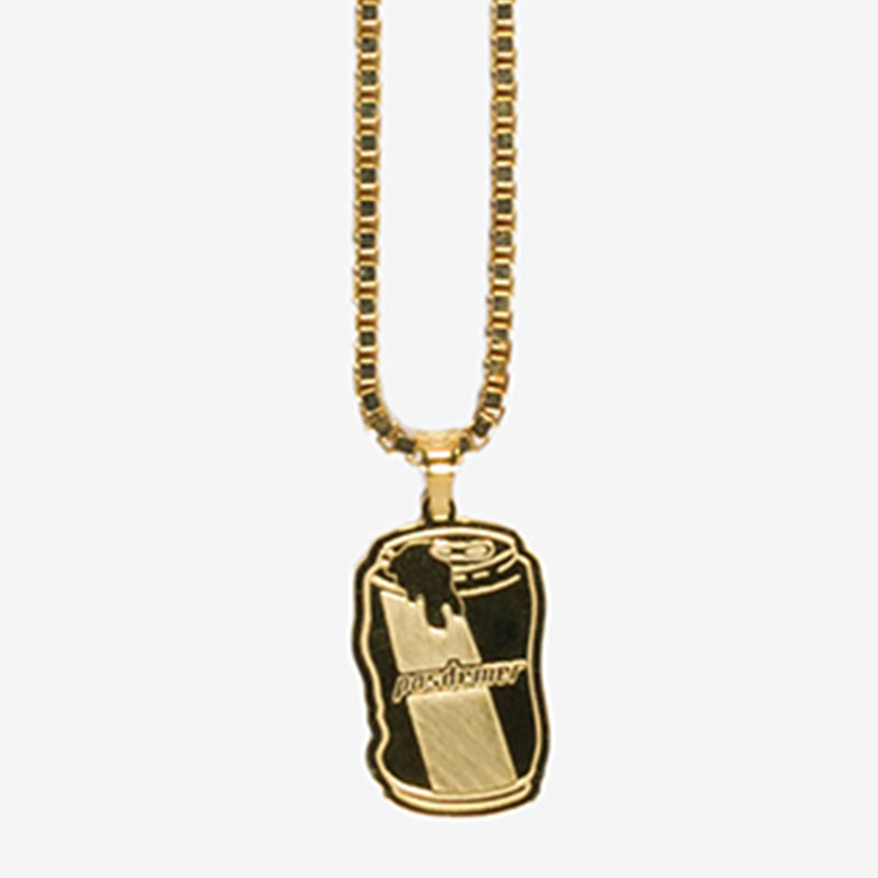 【PAS DE MER/パドゥメ】BEER NECKLACE ネックレス / GOLD