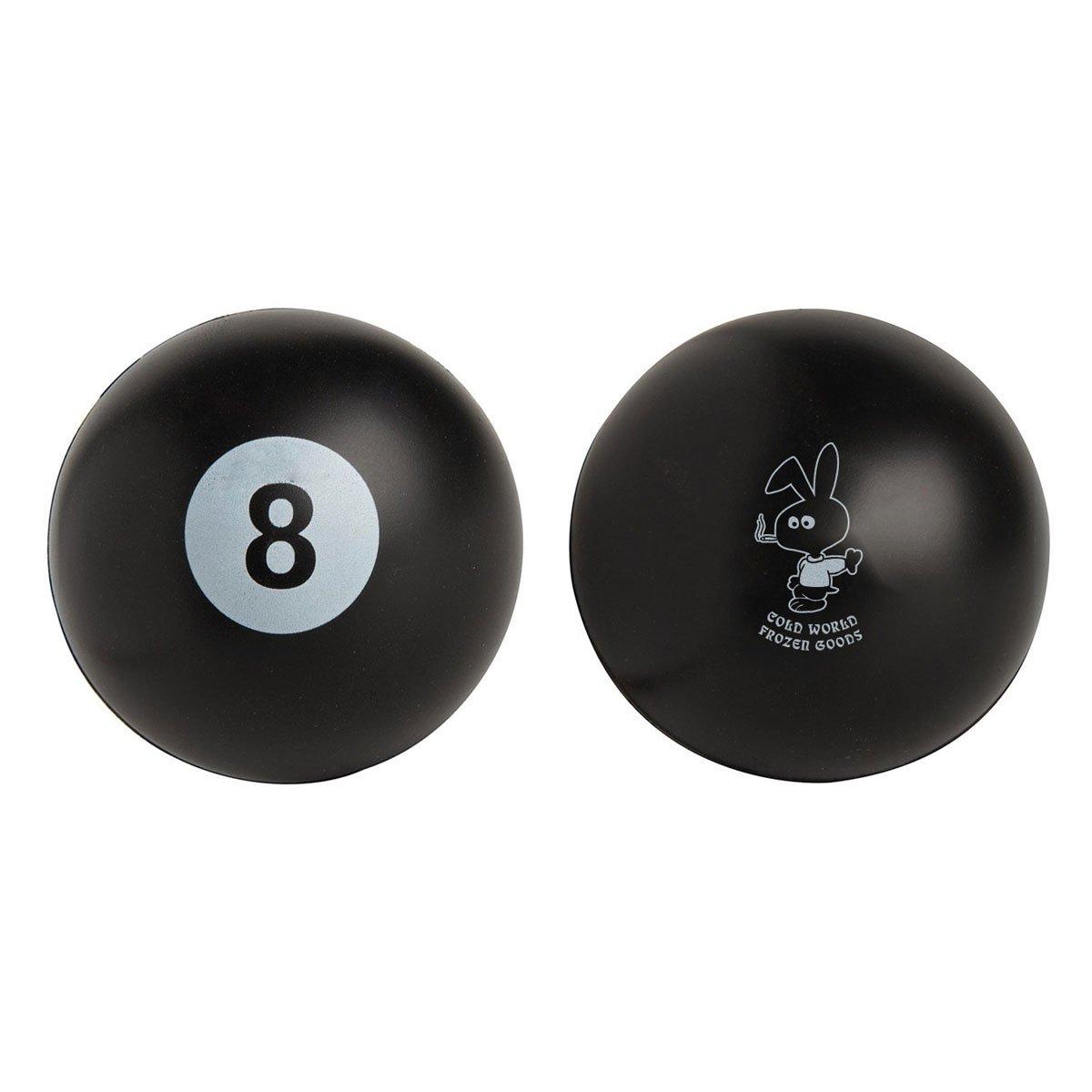 【COLD WORLD FROZEN GOODS/コールドワールドフローズングッズ】COLD BUNNY 8-BALL 8ボール / BLACK