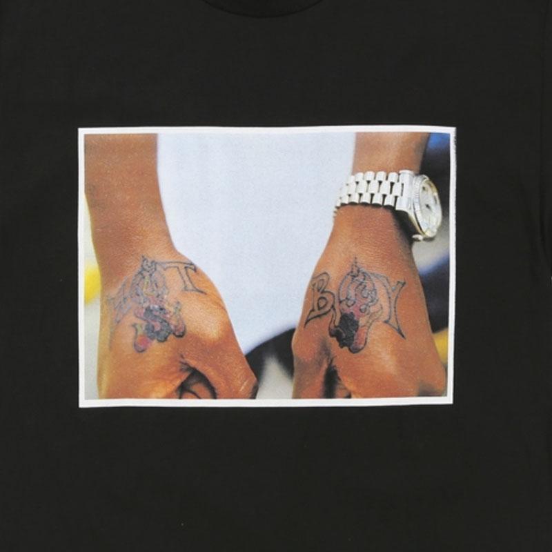 【OFF SAFETY/オフセーフティー】HOT BOY TEE Tシャツ / BLACK
